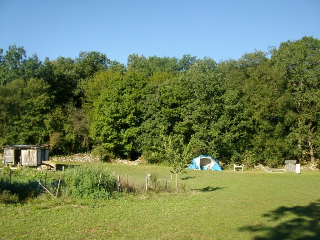 Camping - terrain du bas
